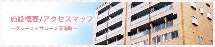 グレースマサコーヌ阪南町-施設概要/アクセスマップ
